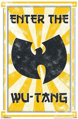 MUSIC 16656 22x34 WU-TANG CLAN ENTER POSTER
