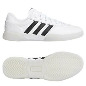 Adidas-ORIGINALS-Homme-CITY-CUP-Chaussures-Blanc-Baskets-Sneakers-Skateboarding-NEUF