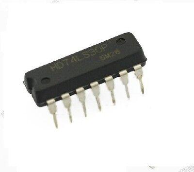 10Pcs  HD74LS30P in-line 74LS30 NAND Gate 8-input DIP-14 IC Integrated Circuit