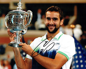 8bdea56ac4dca Marin CILIC Signed Autograph Photo Croatian AFTAL COA US OPEN Tennis ...