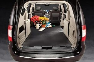2008 2017 chrysler town country and dodge grand caravan mopar cargo area liner ebay. Black Bedroom Furniture Sets. Home Design Ideas