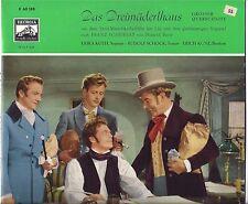 Erika Köth + Rudolf Schock - Erich Kunz : Das Dreimäderlhaus -  25cm Vinyl 1959