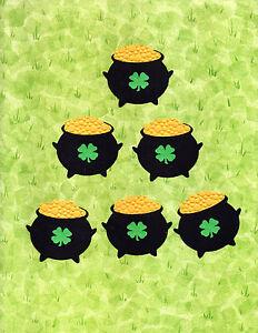 quickutz st patrick s day leprechaun s pot of gold die cut
