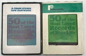 50 Of The Most Loved Records Of Your Life 8 Track Tape 2 & 3 1984