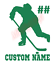 Custom-Hockey-Player-Number-Name-Vinyl-Decal-Window-Sticker-Car thumbnail 8