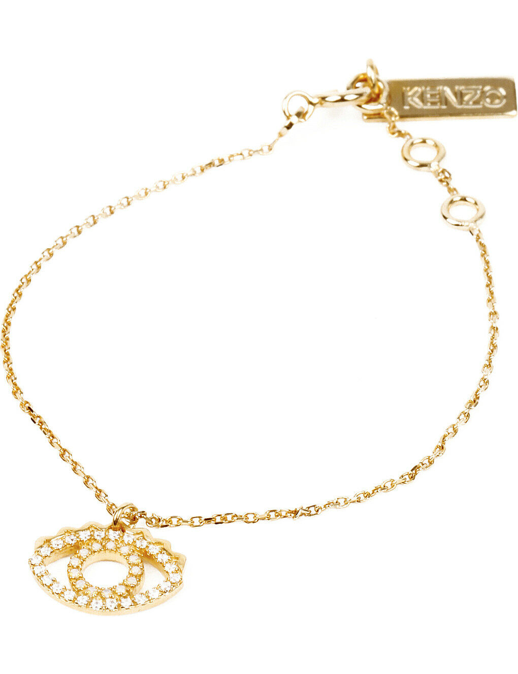 KENZO gold-Plated Mini Eye Bracelet