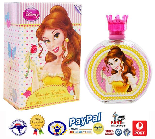 GENUINE Girls Disney Princess  Eau De Toilette Spray-Fragrance-Perfume-EDT 100ml