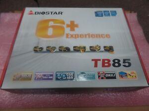 Details about BIOSTAR TB85, LGA 1150 Intel B85, 2 X DDR, ATX, 6 CPU MINING  BOARD
