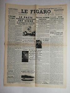 N835-La-Une-Du-Journal-Le-Figaro-24-aout-1939-pacte-Germano-sovietique-signe
