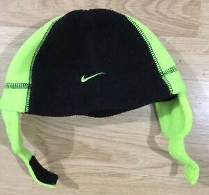 Intrusión patrulla alcanzar  Nike Gorro Tamaño Infantil Bebé Niño Verde Lima y Negro | eBay