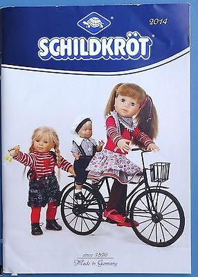 2019 Mode SchildkrÖt Puppenkatalog 2014 Wunderschöne Puppen + Zubehör 60 Seiten, Sammler HeißEr Verkauf 50-70% Rabatt