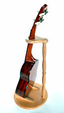 STAND FOR SOPRANO /CONCERT / TENOR SIZE UKULELES VIOLIN AND MANDOLIN SOLID BEECH