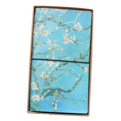 Notebook Note Book Pad Jotter Lined Paper Journal Diary Sketch Gift PU COVER