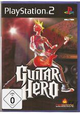 Guitar Hero - Playstation 2 - PS2 Spiel - Deutsche Neuware