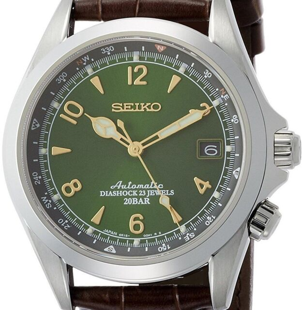 quite nice bc68c 4369a New! SEIKO MECHANICAL Alpinist SARB017 Automatic Men's Watch Made in Japan!