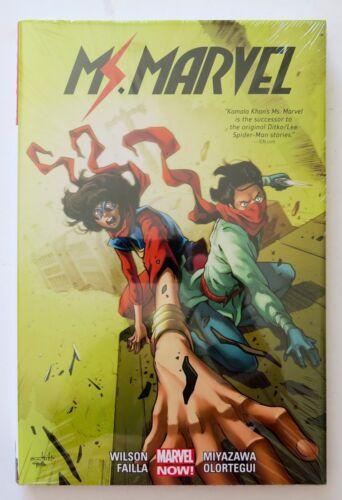 4 Hardcover Marvel Now Graphic Novel Comic Book Ms Marvel Vol