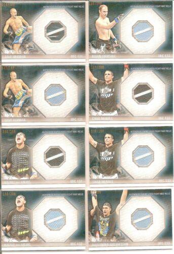 Rafael dos Anjos 2012 Topps UFC Knockout Fight Mat Relics Card # FMRDA