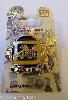 Disney WDW 40 Years of Magic Tinker Bell Walt Pin