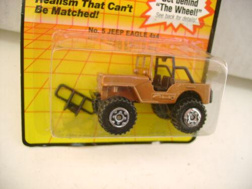 1983 MATCHBOX SUPERFAST JEEP EAGLE 4X4 #5 NEW ON CARD