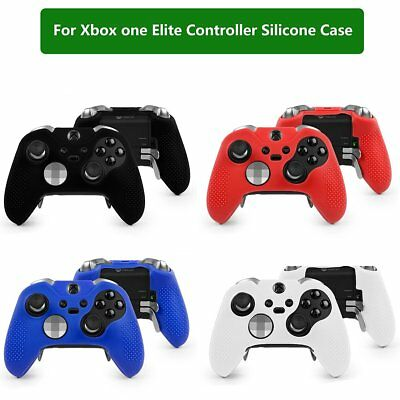competitive price c8fc9 41ee6 Silicone Case Cover Skin Grips Protective for Xbox One Elite Controller |  eBay