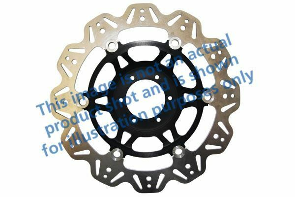 FIT DUCATI  749 Dark (Monop 04>06 EBC VR Brake Disc Black Centre Hub Front Right