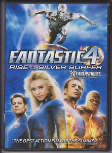 The-Fantastic-Four-Rise-of-the-Silver-Surfer-DVD-2007-Bilingual-Dual-Side