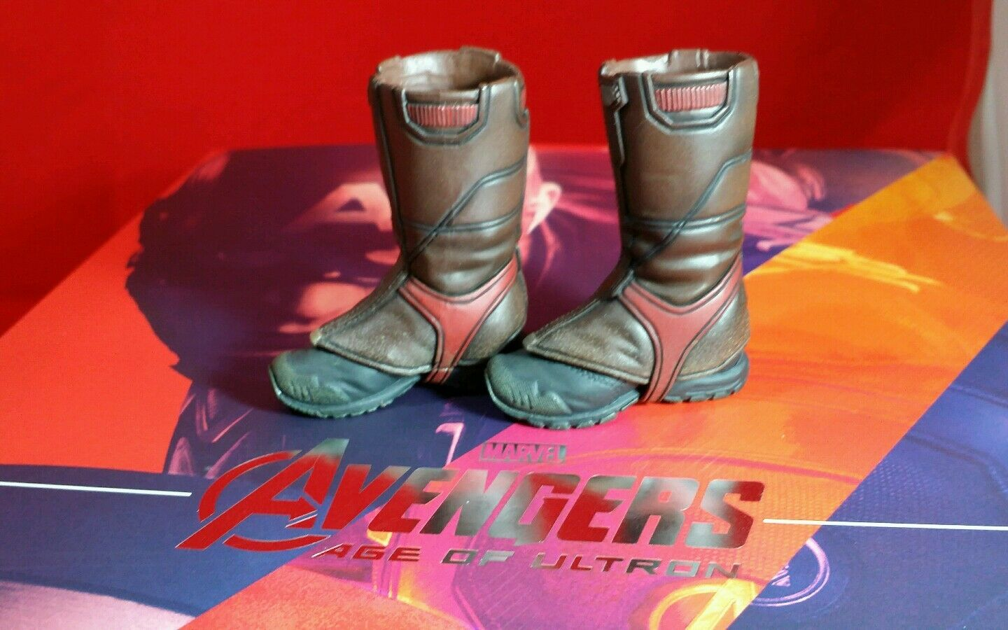 Hot Toys 1 6 scale MMS281 Marvel Avengers Age Ultron Captain America Boots only