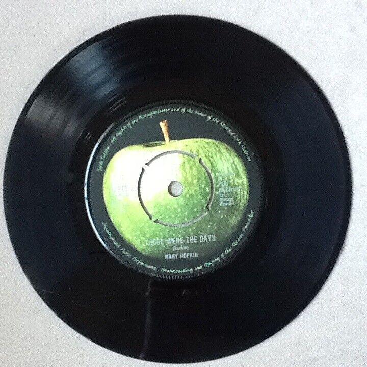 Single, Mary Hopkin, Those Were The Days - Turn Turn Turn