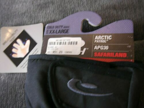 Details about  /NWT Hatch Arctic Patrol APG30 Cold Weather Black Mens Gloves Sz XXL Insulated