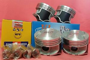 YCP-P29-76mm-Oversize-Teflon-Coated-Pistons-HighComp-NPR-Rings-For-Honda-D16