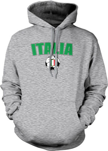 Italia Italy Soccer Ball European Soccer Country Pride  Hoodie Pullover