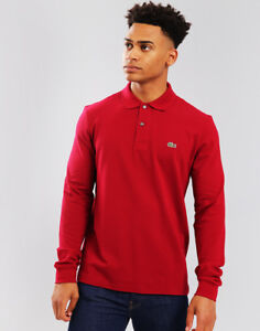 9aaf4ccb Image is loading Lacoste-Long-Sleeve-L-12-12-Polo-Shirt-