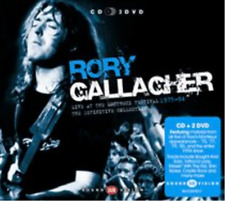 Rory Gallagher-Live at Montreux  (UK IMPORT)  CD with DVD NEW