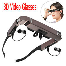 Vision 800 3D VR Video Glasses Android 4.4 WiFi Bluetooth Virtual +5MP HD Camera