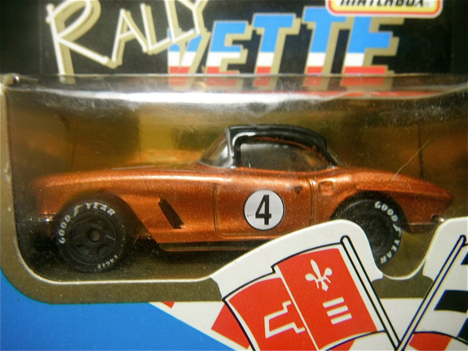 1992 Matchbox Series One Rally Corvette Set of Four (4) (4) (4) Sealed 21d286