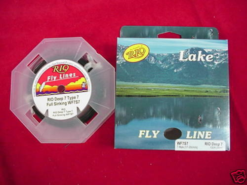 Rio Fly Line In Touch Deep 7 Sinking Line GREAT NEW