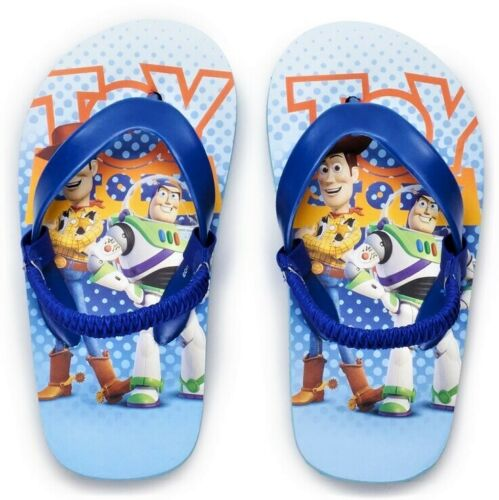 TOY STORY 4 WOODY /& BUZZ DISNEY Flip Flops w// Optional Sunglasses Beach Sandals