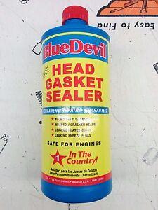 Details about Blue Devil Blue Devil Head Gasket Sealer | 32 oz  38386