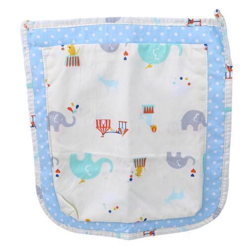 Baby Carriage Bed Hanging Storage Bag Toy Diaper Pocket Organizer Bottle Holder