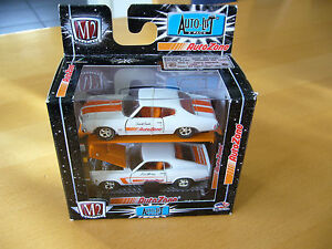 M2 Machines 1:64 Ford Mustang+Chevrolet Chevelle, AutoZone Lift Set, NEU, USA - <span itemprop='availableAtOrFrom'>Kalletal, Deutschland</span> - M2 Machines 1:64 Ford Mustang+Chevrolet Chevelle, AutoZone Lift Set, NEU, USA - Kalletal, Deutschland