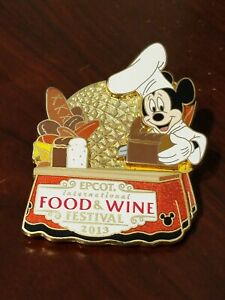 Epcot\u00ae International Food and Wine Festival 2012 Pin 92629 WDW Mickey Mouse