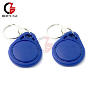 Details about 5PCS RFID IC Keyfobs Key Tags Token NFC TAG 13 56MHz Keychain  for Arduino