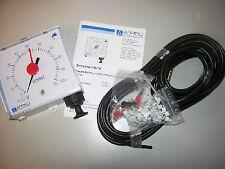 Afriso Pneumatisches Füllstandmessgerät Unitel-Montagefix-Wasser, Komplett Set