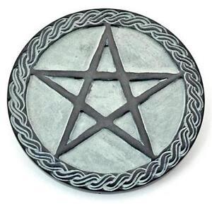 6-034-Pentagram-Soapstone-Altar-Tile-Altar-Plate