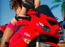 BLACK SPIKE FAIRING & WINDSCREEN BOLTS for Sportbikes