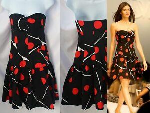 DVF-Diane-Von-Furstenberg-Lady-Bug-Print-Basilica-Dress-Size-2