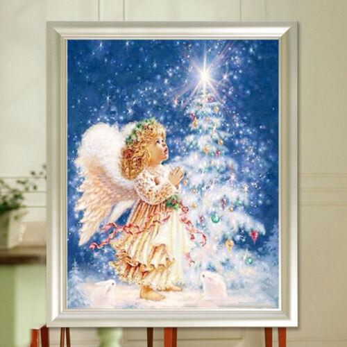 UK/_ CHRISTMAS LITTLE ANGEL DIY CROSS STITCH PARTIAL DRILL DIAMOND PAINTING OPULE