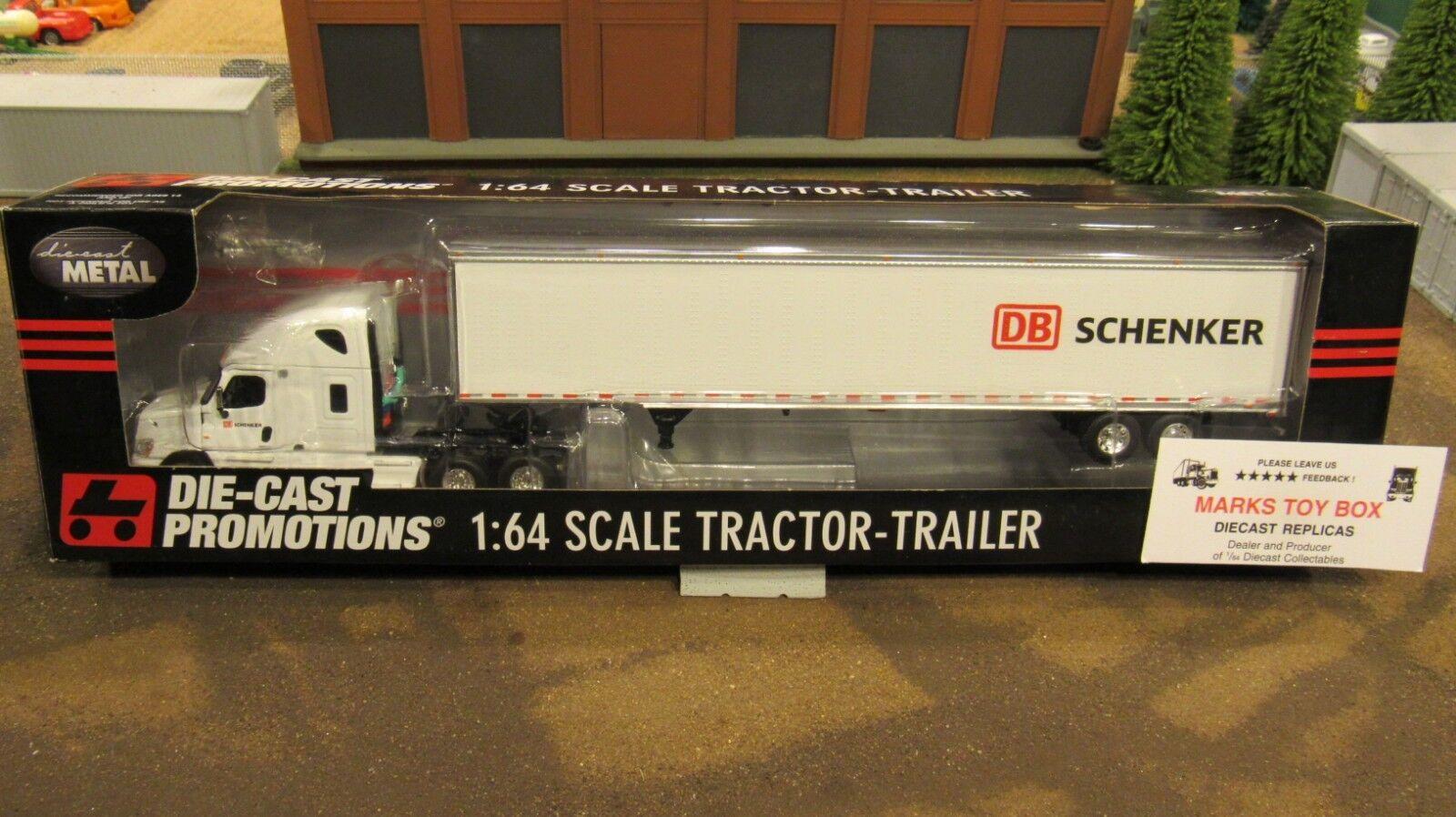 DCP DB SCHENKER RAIL LOGISTICS FL SEMI CAB  & DRY VAN TRAILER 1 64  CL