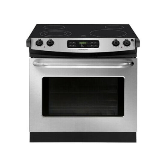 Frigidaire Professional 30 Inch Stainless Steel Drop In Electric