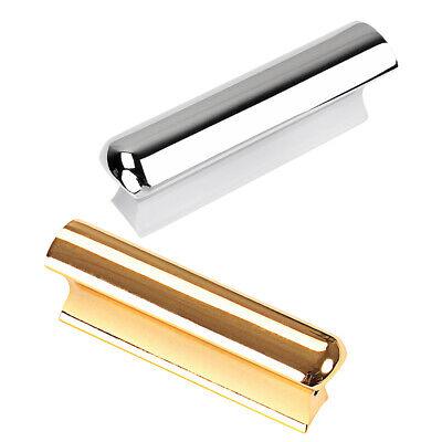2pcs stainless steel lap slide bar slider for hawaii electric guitar parts ebay. Black Bedroom Furniture Sets. Home Design Ideas